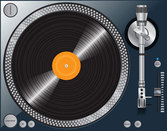 Free High Quality Vector Turntable