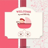 cartoon baby card