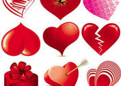 Love Heart Vectors
