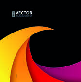 Colorful creative geometry vector background003