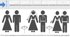 Happy Couple Free Wedding