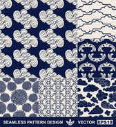 Hand-painted pattern background vector003