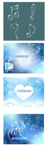 Background Notes And Transparent Dream