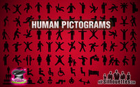 82 Vector Human Pictogram