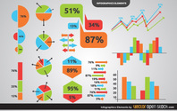 Infographic Charts & Graphs Elements