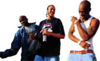 Tupac Shakur (2Pac) with The Outlawz PSD