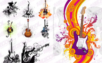 9 the trend of guitar illustrator