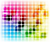 Design coloré abstrait