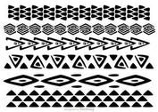Hawaiian Tribal Pattern Vectors Pack 1