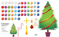 Christmas Vector Set1