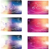 Abstract Music Card, Free