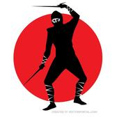 NINJA WARRIOR VECTOR GRAPHICS.eps