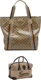 2 Gucci bags PSD