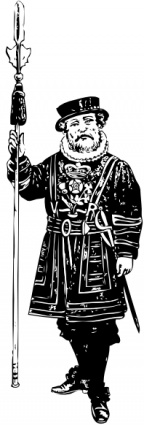 Yeoman Of The Guard Bw