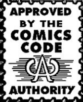 Comics Code Authority Logo PSD