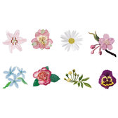 COLORFUL FLOWERS VECTOR COLLECTION.eps