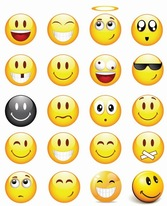 Cool Smilies Vector Icon Set