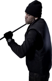 Lloyd Banks As Robber PSD