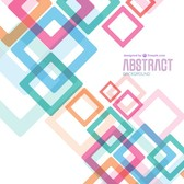 Geometric vector template free
