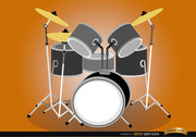 Drum set musical instrument