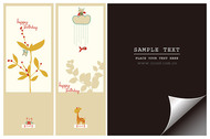 Bookmark With Lovely Pictorial Paper Angle