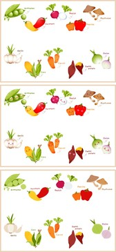 Lovely Fruits And Vegetables