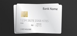 Sharp Shiny Credit Card Template PSD
