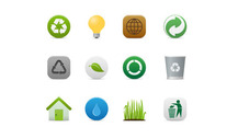 Vector Ecology And Recycling Icon (.Ai)