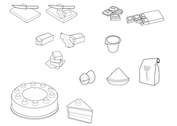 Cooking Food Vectors