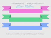 Clean Ribbons