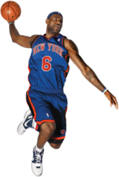 Lebron James as Knick PSD