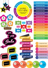 Colorful Decorative Graphics Vector 1