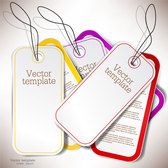 Exquisite creative label sticker vector-3