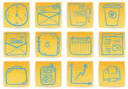 Free Office & Business Hand Drawn Icons