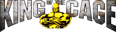 King of the Cage MMA logo PSD