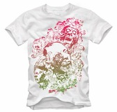 Free Floral Zombie Nightmare Free T-shirt Design