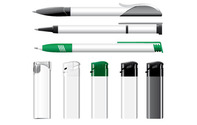 Vector Lighters And Pens (.Ai)