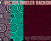 Vector Circles Background