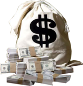 Bag Of Money PSD