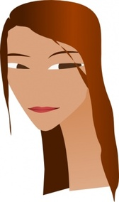 Woman S Face With Long Neck