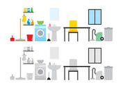 House Keeping Vector Pack