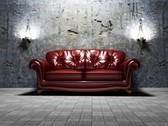 Fine Leather Sofa Furniture HIgh Res Picture