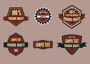 Premium Badge Set