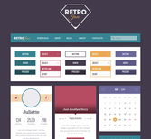 Retro Jam UI Kit