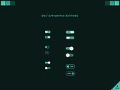 UI challenge - On Off Switch Button #015 #Freebies