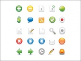 Free Vector Icon Set 1 - Containing 25 Icons