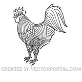 COCKEREL VECTOR GRAPHICS.eps