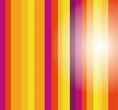 Colored Vertical Stripes Background