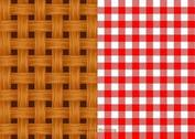 Free Vector Old Wicker Basket Texture