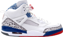 Air Jordan Spiz'ike White / Red / Blue PSD